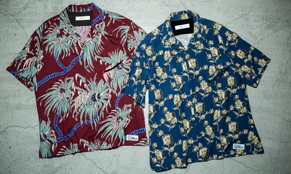 TOGA PULLA x reyn spooner 经典夏威夷衬衫