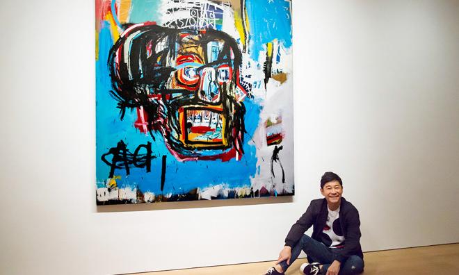 前泽友作竞得 Jean-Michel Basquiat 天价画作