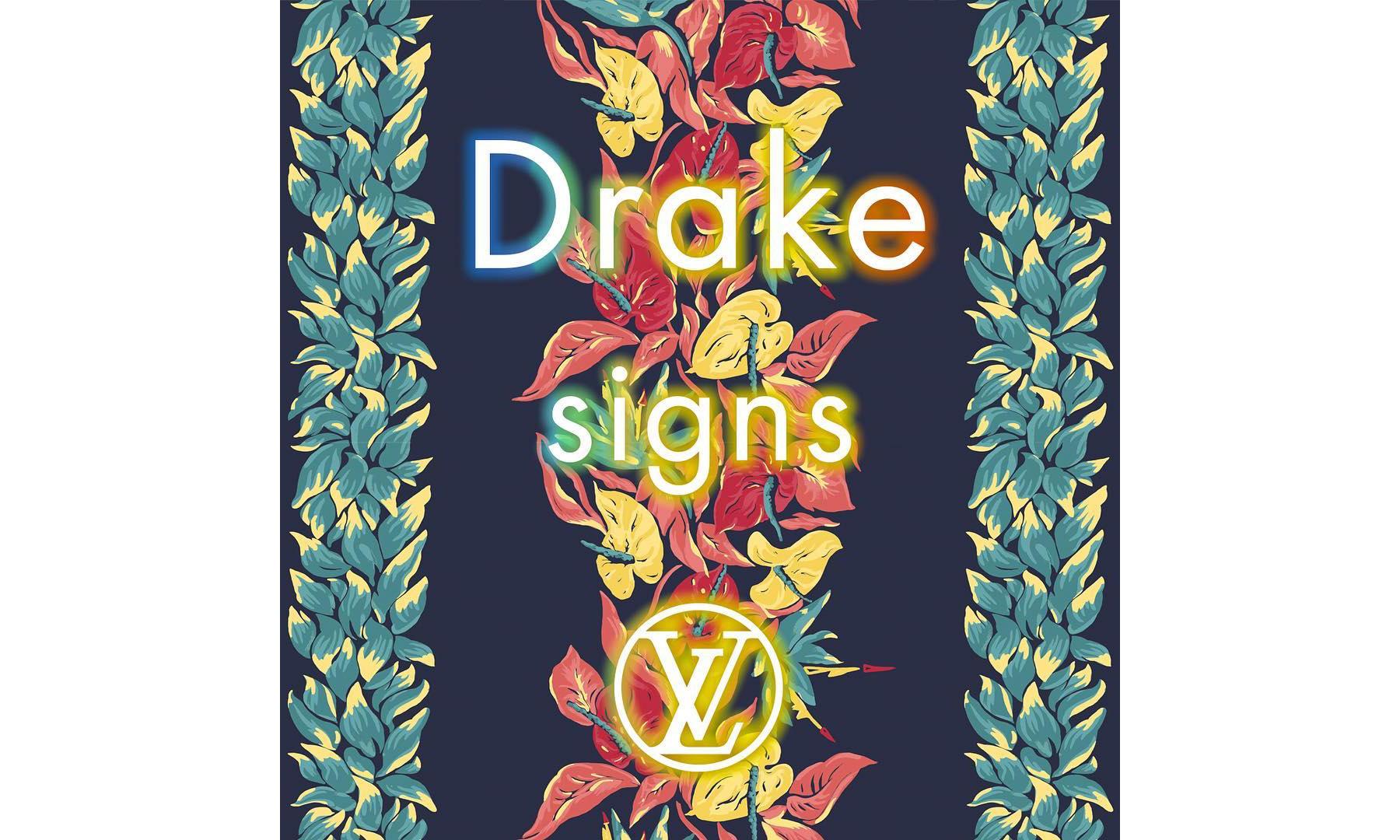 Drake 为 Louis Vuitton 2018 春夏大秀创作新单《Signs》