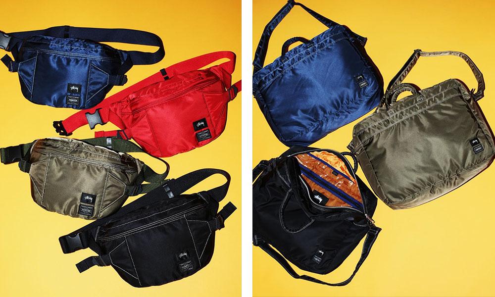 STÜSSY x Porter 2017 联名包袋系列明日发售