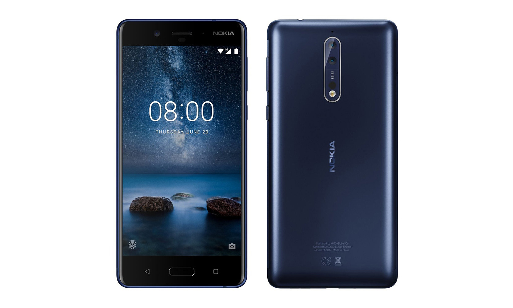 Nokia 推出新一代智能手机 — Nokia 8