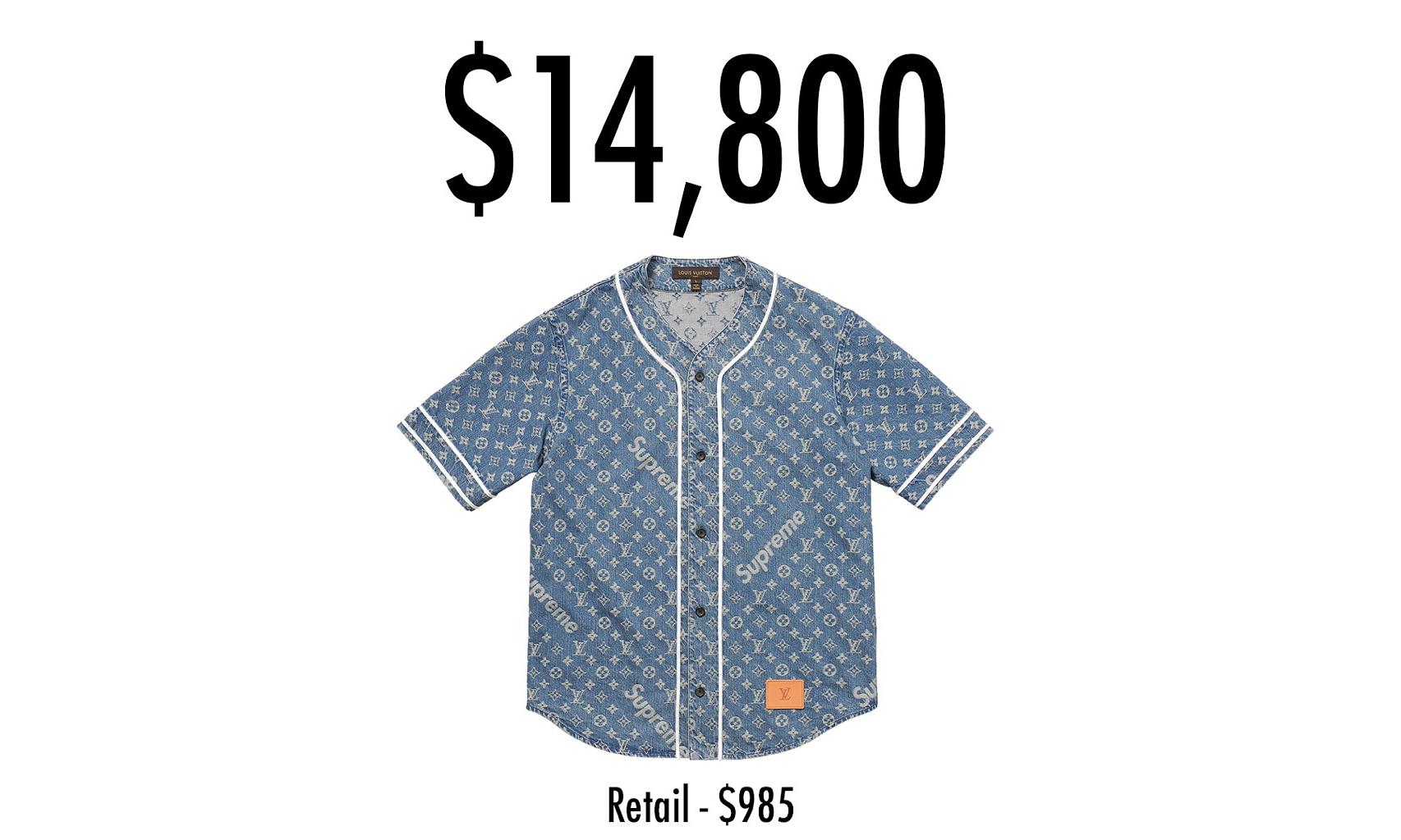 10 万一件!Supreme x LV 在 eBay 最高成交价如此疯狂