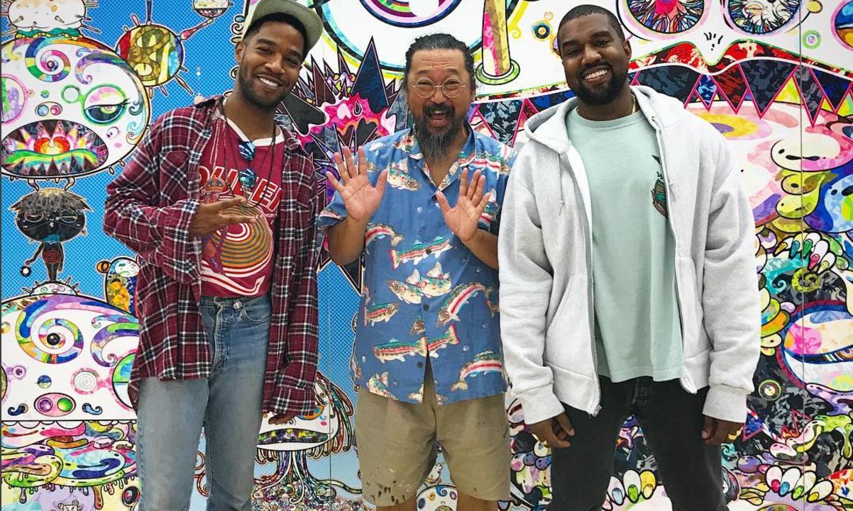 Kanye West 和 Kid Cudi 传出将与村上隆合作的消息