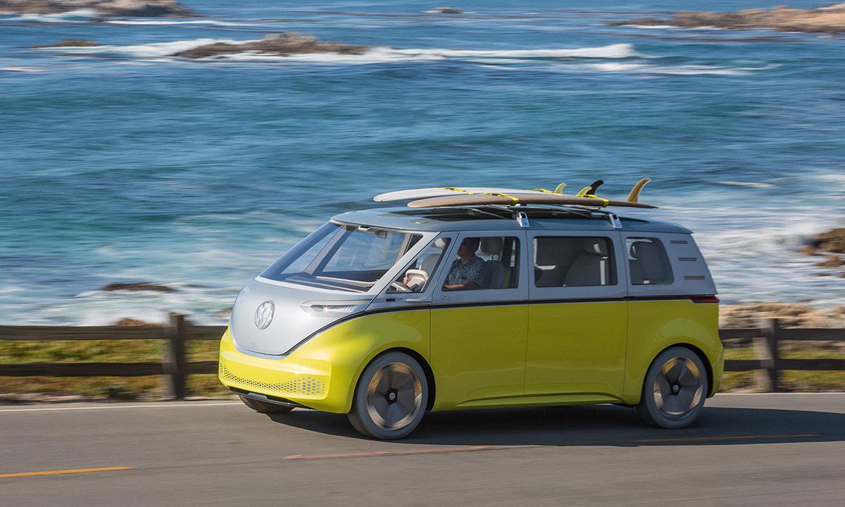 大众概念电动车 I.D.Buzz 上市时间敲定,2022 年就能开回家