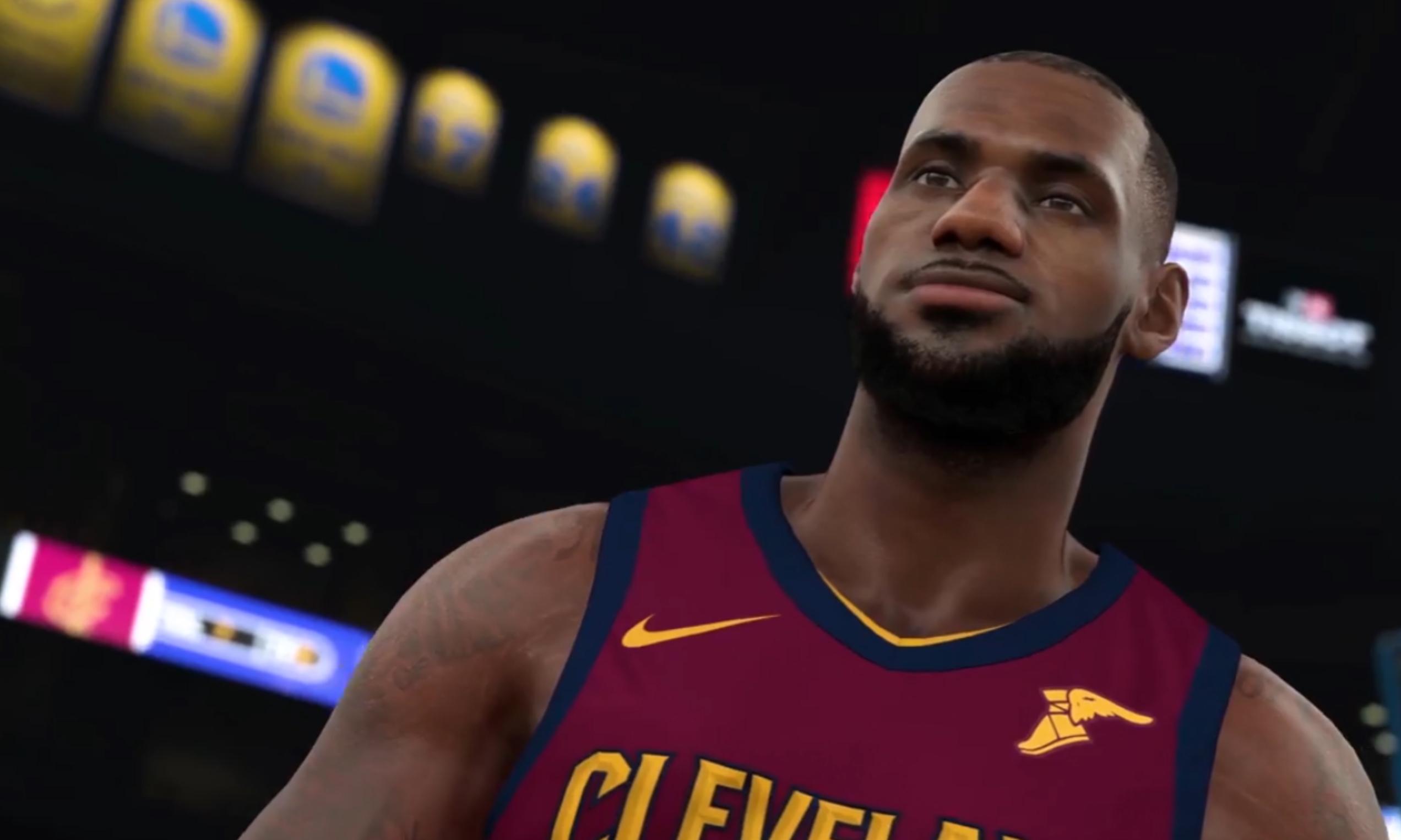 NBA 2K18 发布《Get Shook》预告片