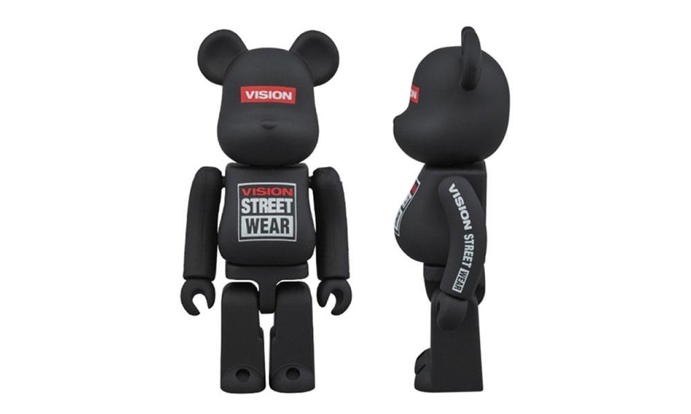 BE@RBRICK x VISION STREET WEAR 联乘玩偶发售