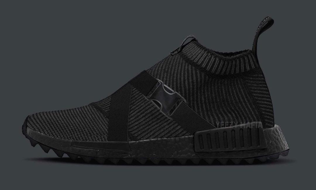 adidas Consortium x The Good Will Out 打造真·黑魂 NMD_CS1 Trail