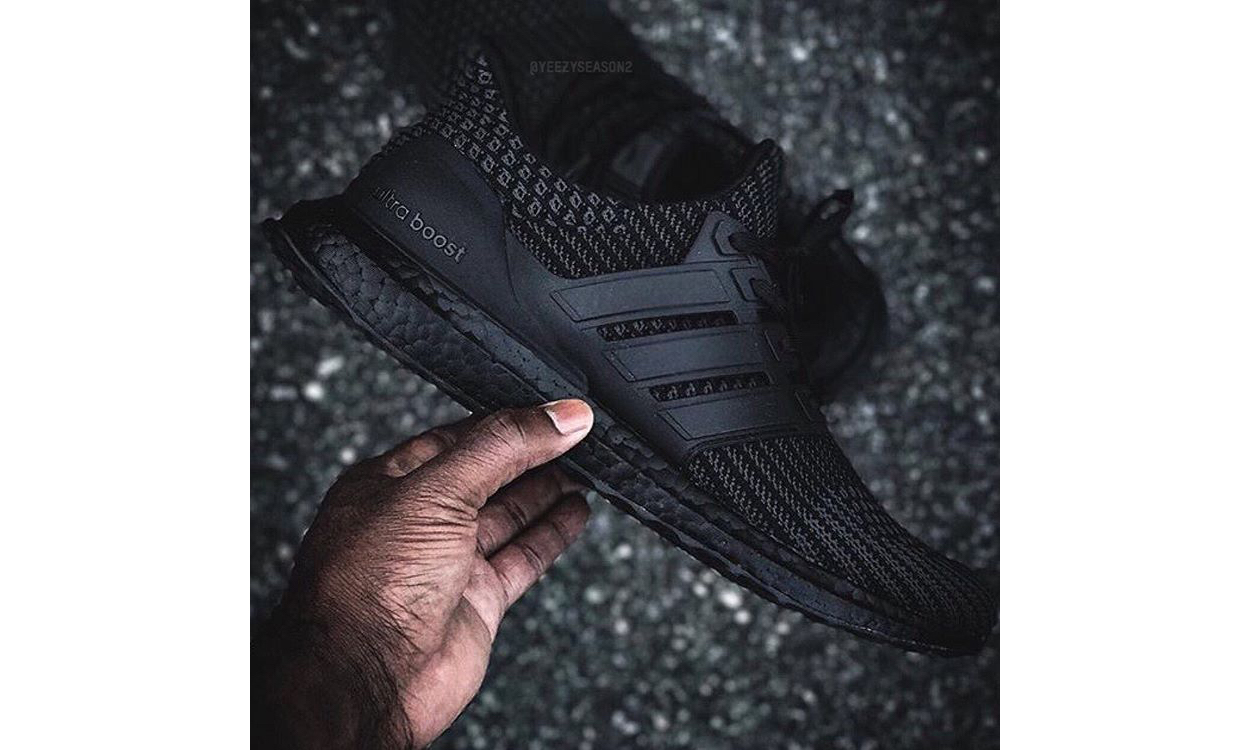 "adidas Ultra Boost 4.0 ""Triple Black"" 将于年末发售"
