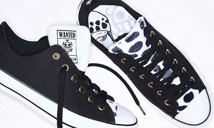 CONVERSE JAPAN 与经典动漫《ONE PIECE》推出联名鞋款