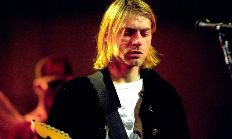 从未见过的 Kurt Cobain 绘画宪现正展出