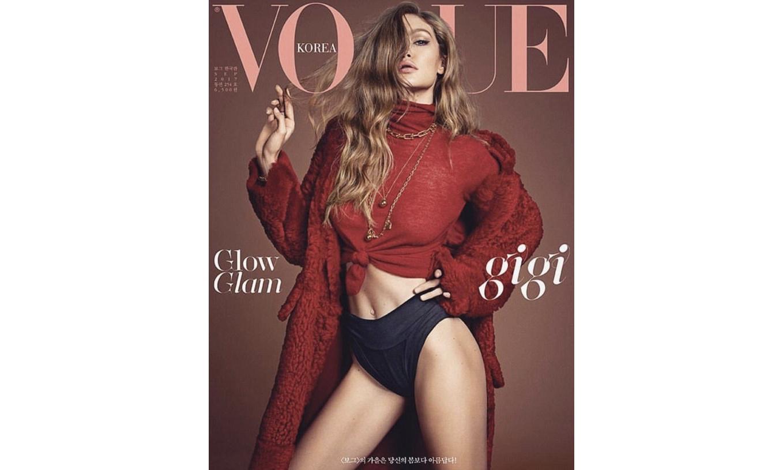 双面娇娃!Gigi Hadid 登上《VOGUE》韩国版 9 月封面