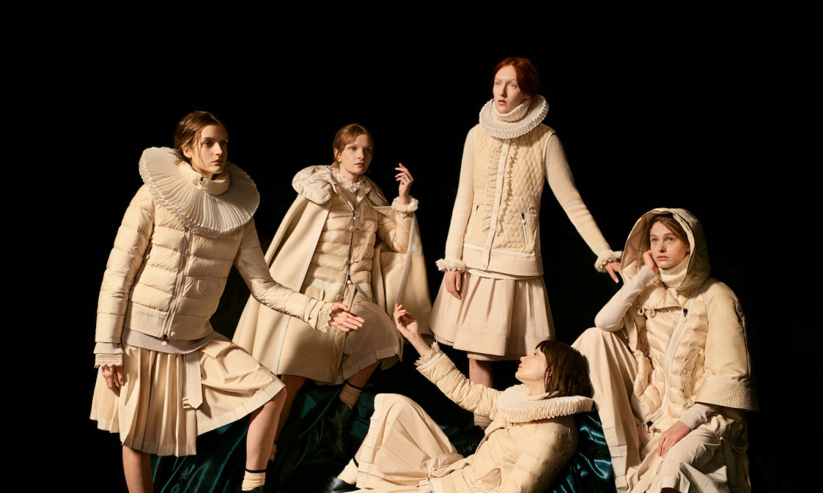 Moncler 2017 秋冬女装造型特辑重现中世纪典雅