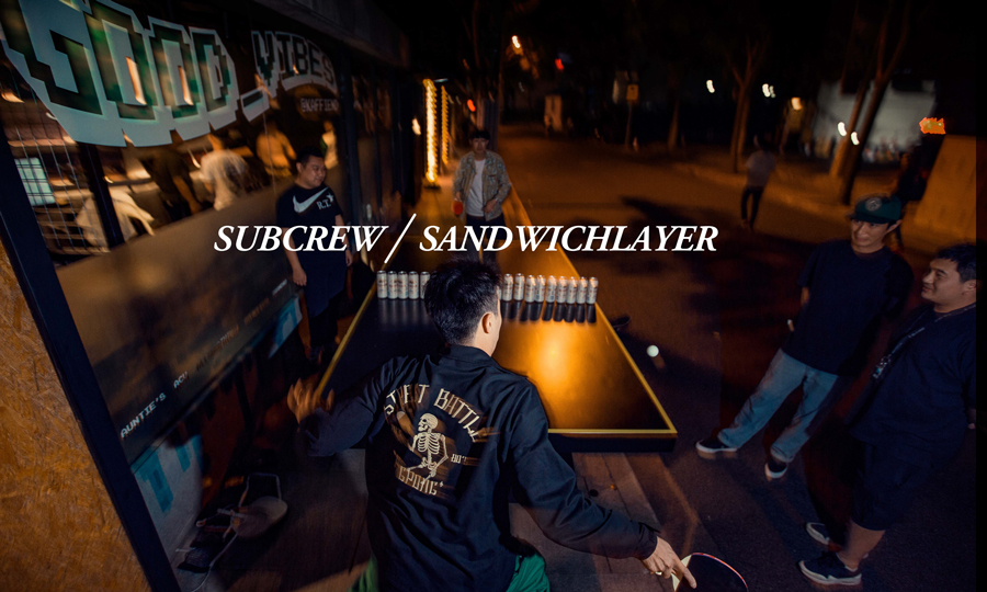 "SandwichLayer x Subcrew 联名 ""Street Battle"" 夹克即将发售"