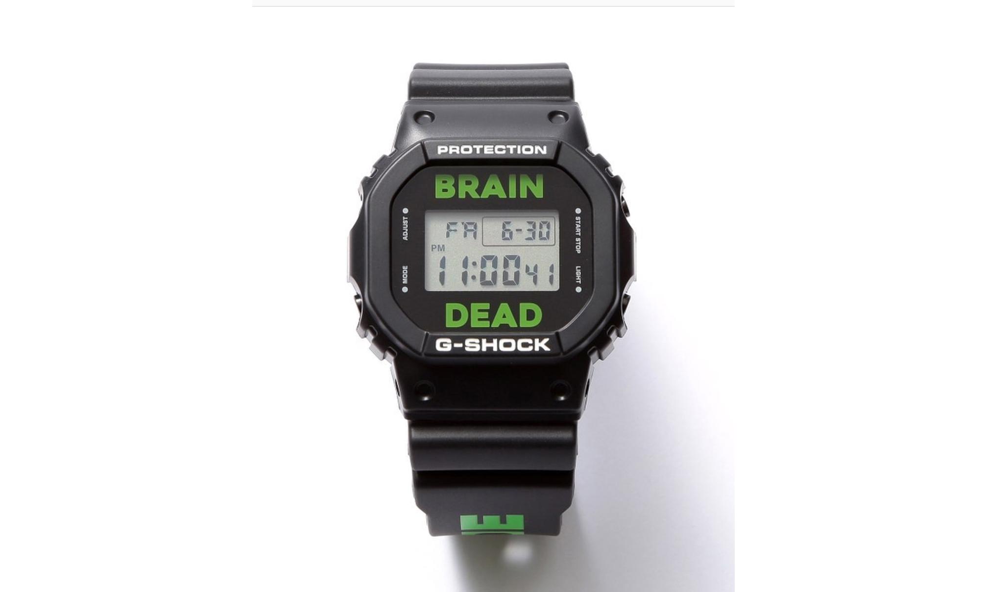 Brain Dead x G-SHOCK 推出限定别注手表