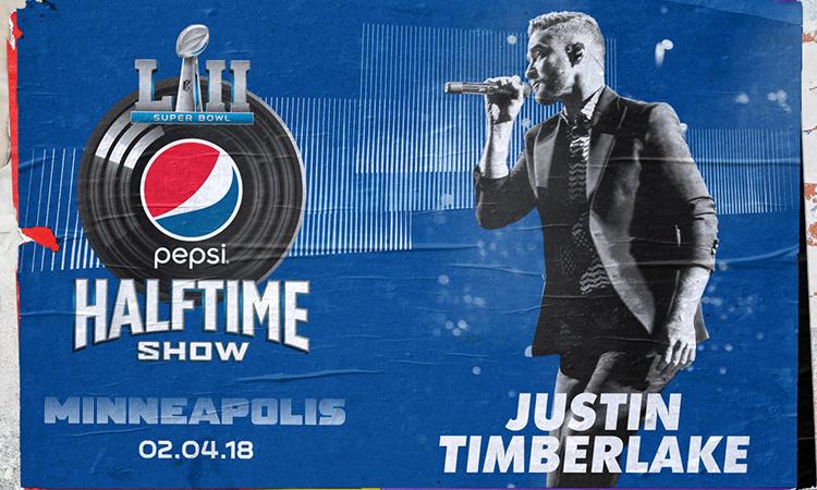 Justin Timberlake 将担任第 52 届超级碗中场秀表演嘉宾