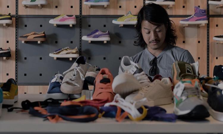 Michael Lau 曝光与 PUMA 的 Suede 联名鞋款