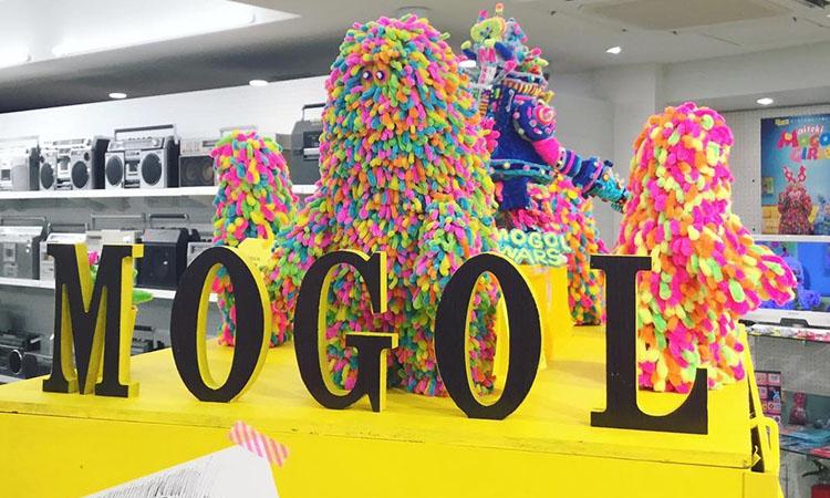 "BEAMS JAPAN 将举办 ""MOGOL ART POPUP MONSTERS"" 期间限定活动"