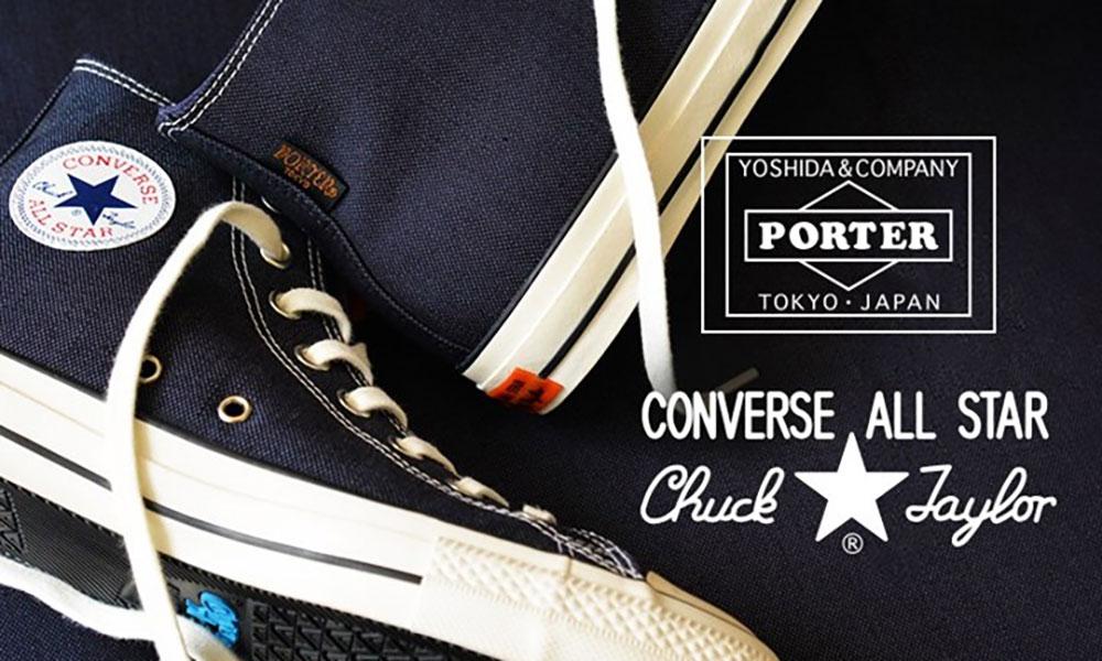 PORTER x CONVERSE 打造 ALL STAR 100 联乘鞋款