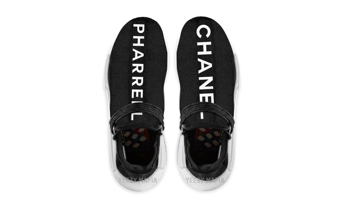 adidas Originals x Pharrell x Chanel 三方联名 Hu NMD Trail 即将发售