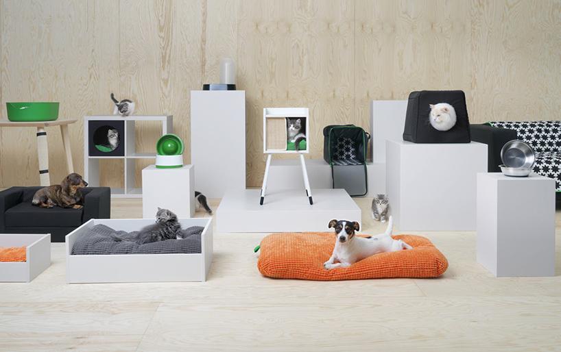 IKEA 推出专为你的宠物猫狗而设计的时尚家居系列