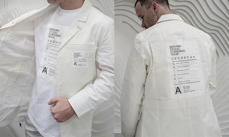 Ronnie Fieg 为艺术家 Daniel Arsham 打造工作室专属夹克