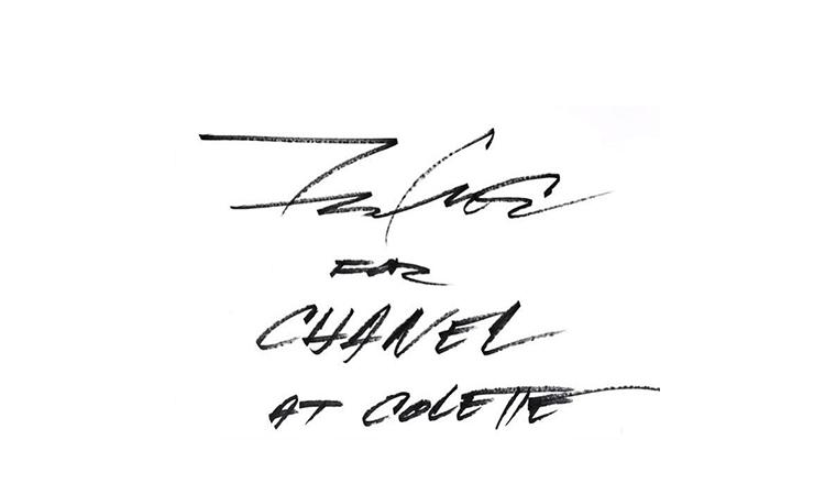 Futura 将为 Chanel x colette Pop-Up 进行现场创作