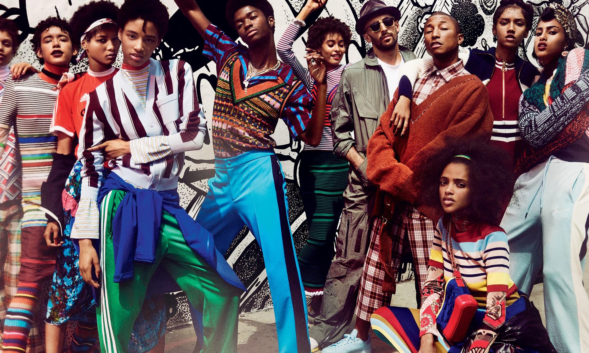 Pharrell Williams 荣登《VOGUE》12 月刊的杂志封面