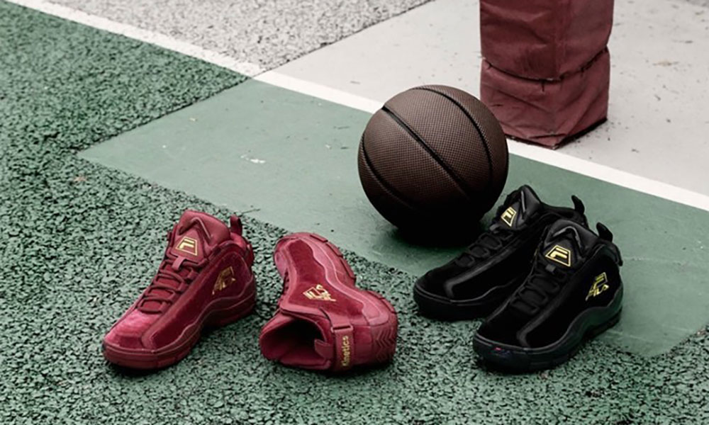 "FILA x Kinetics ""Velour Pack"" 联乘系列即将发售"