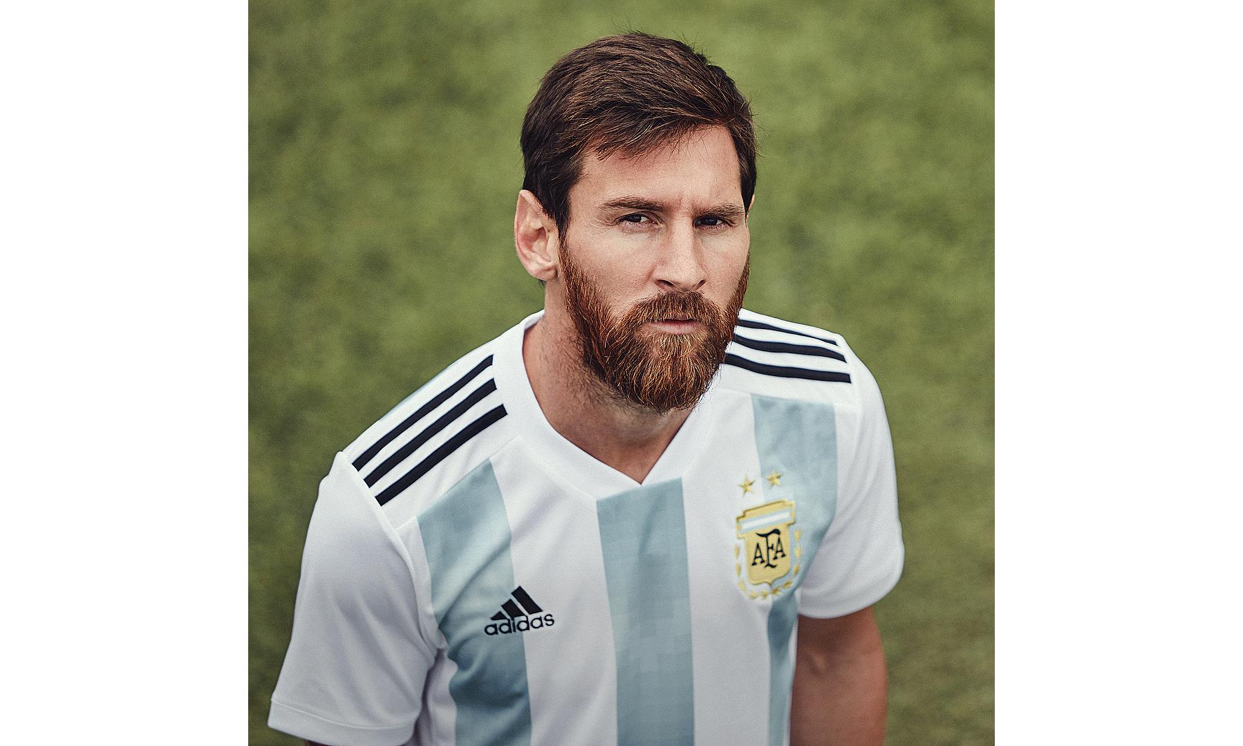 梅西领衔,adidas Football 发布 2018 世界杯多队主场战袍