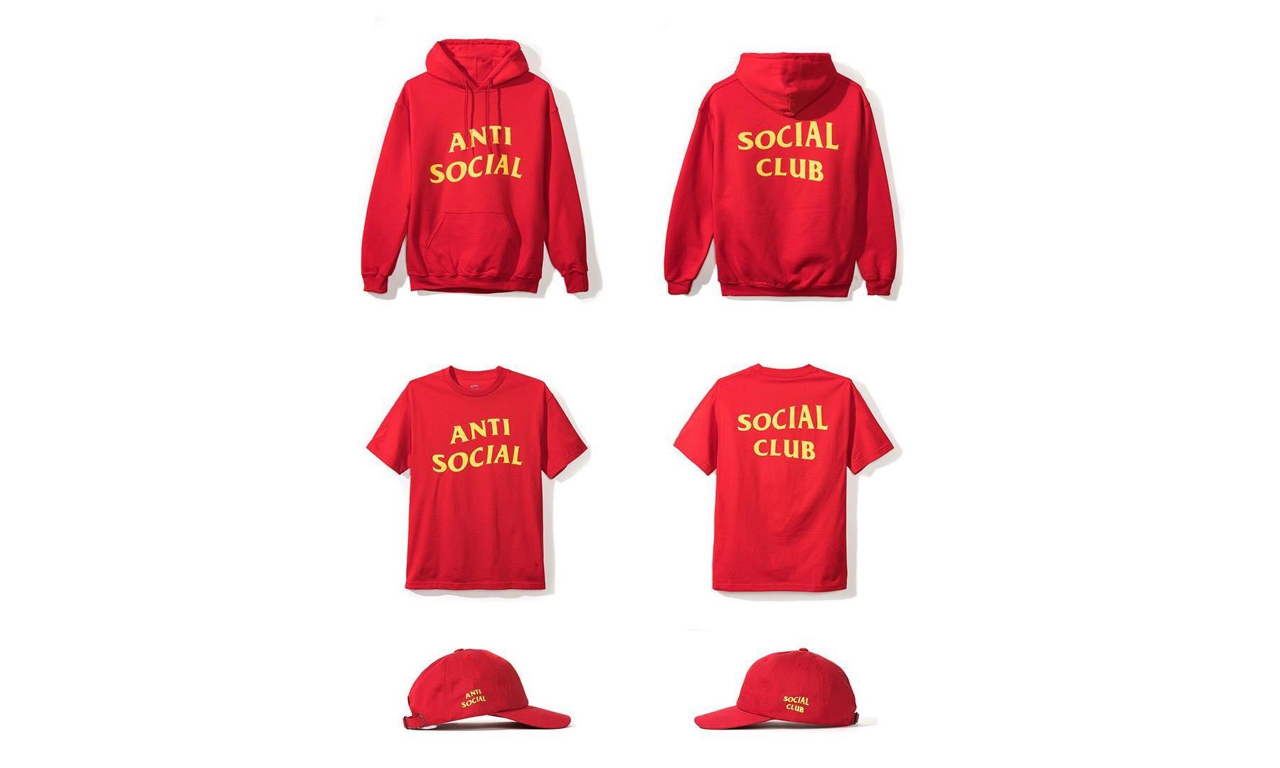 Anti Social Social Club 亚洲限定系列即将开售