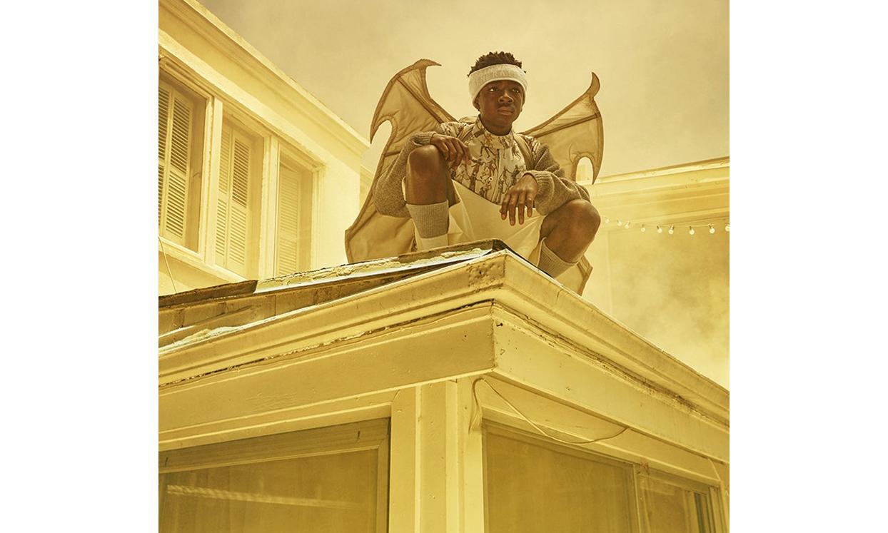 《怪奇物语》小演员 Caleb McLaughlin 打造独特型录