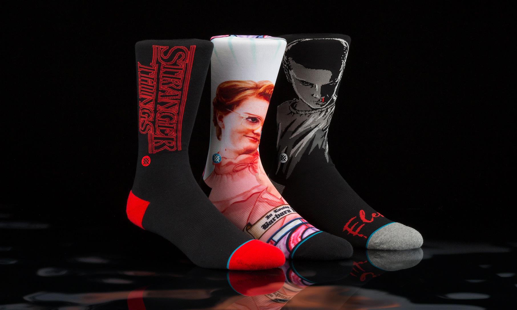 Stance 打造《怪奇物语》别注袜子系列