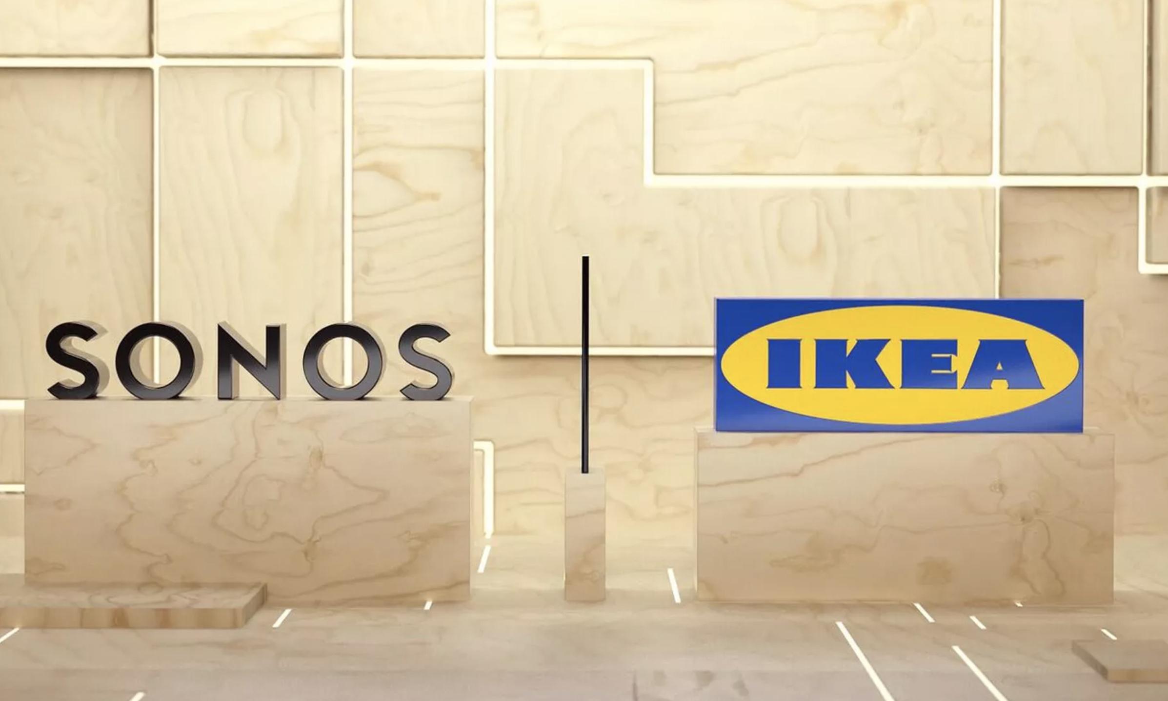 IKEA 与音响品牌 Sonos 宣布合作,加快智能家居步伐