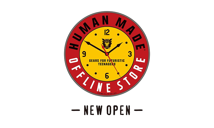 NIGO® 开了一家叫 OFFLINE STORE 的新店
