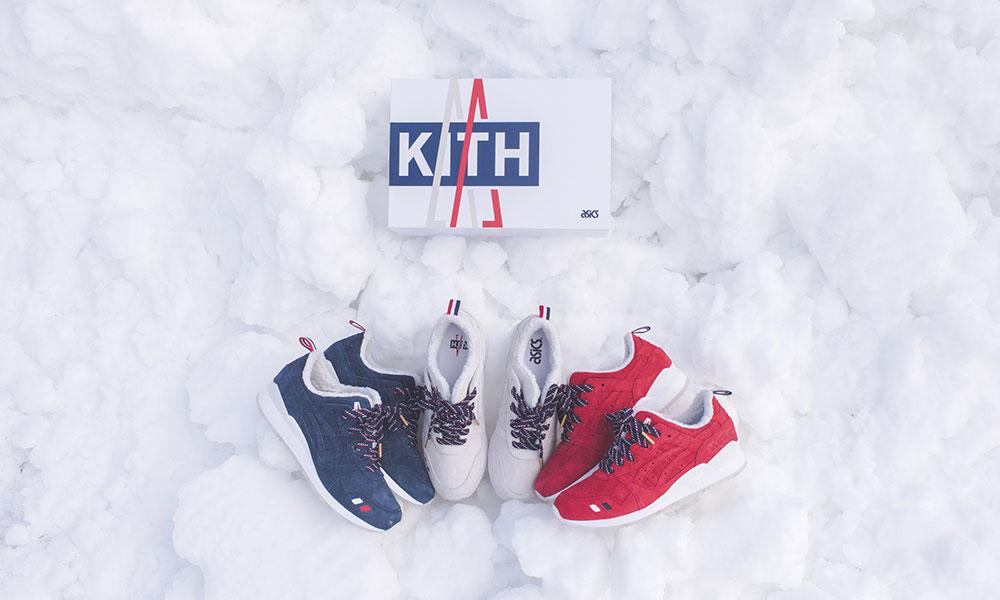 近赏 KITH x Moncler x ASICS Tiger 三方联名鞋款