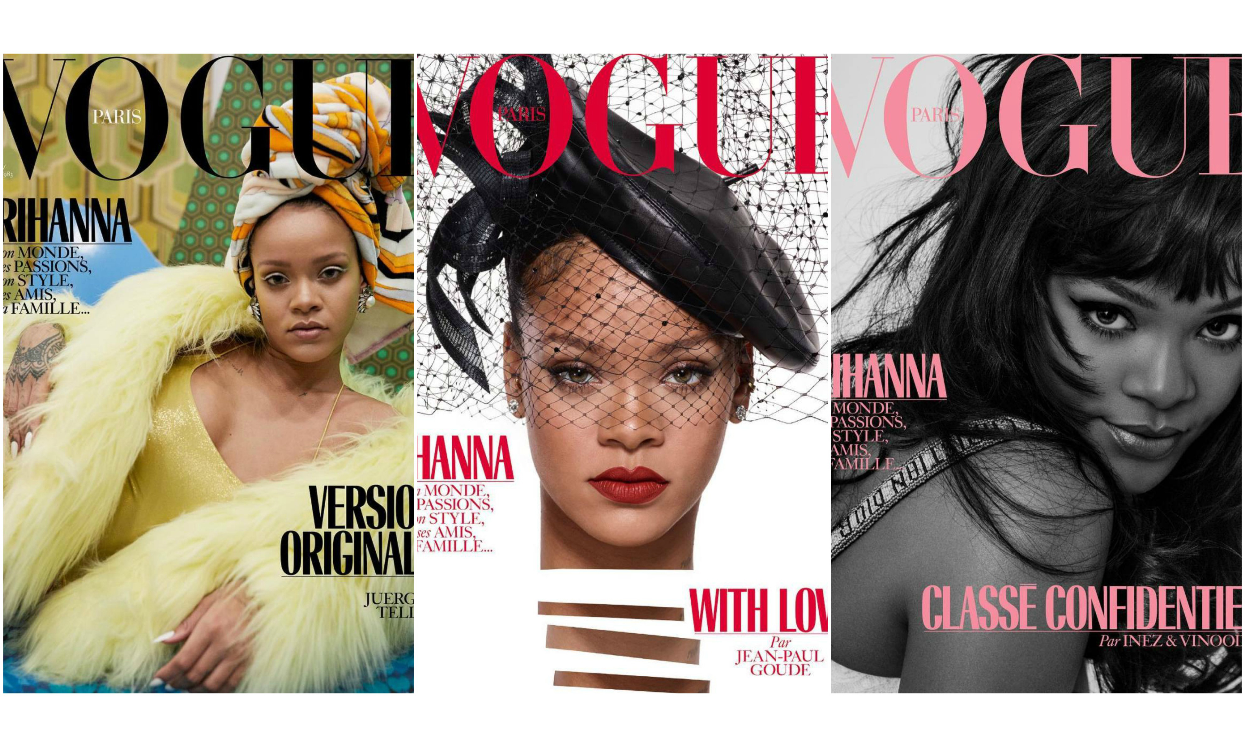 Rihanna 登上《Vouge Paris》封面