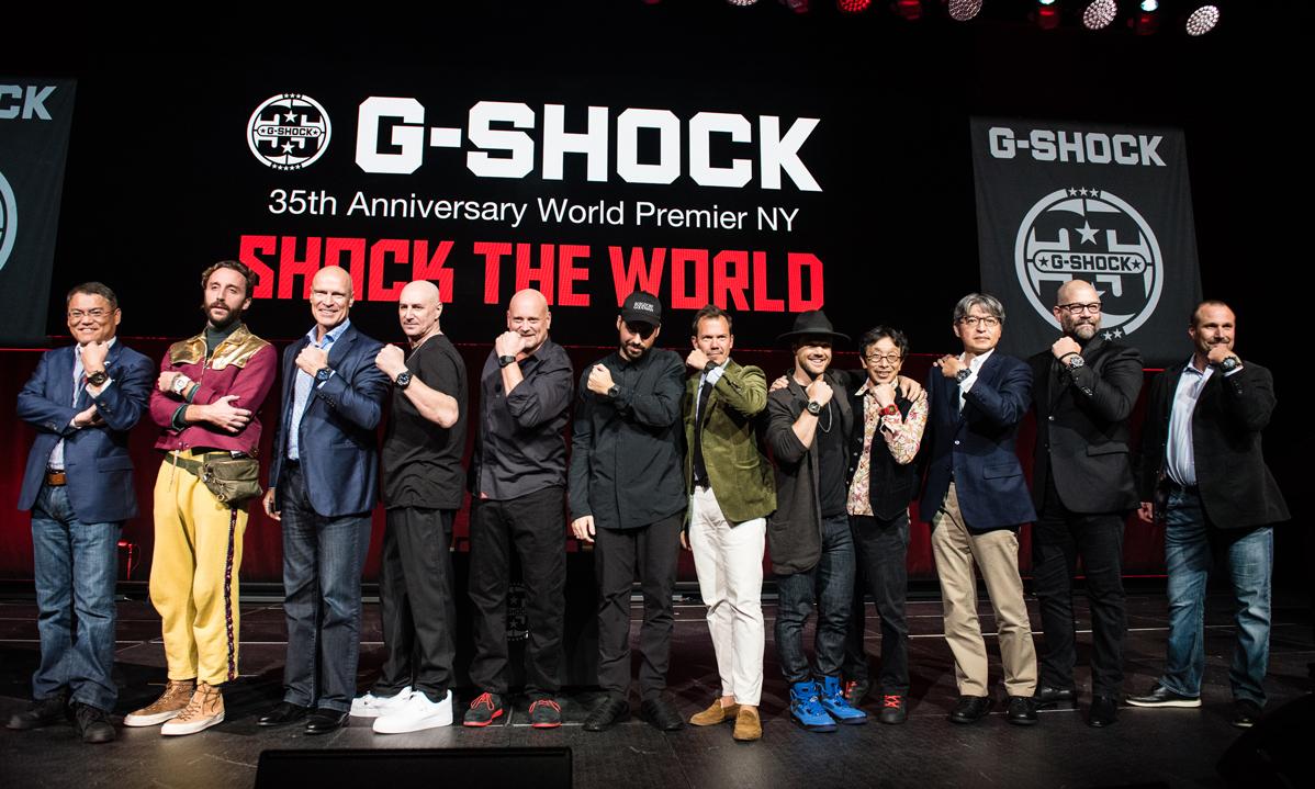 大咖云集贺新年,G-SHOCK 35 周年上海站等你来!