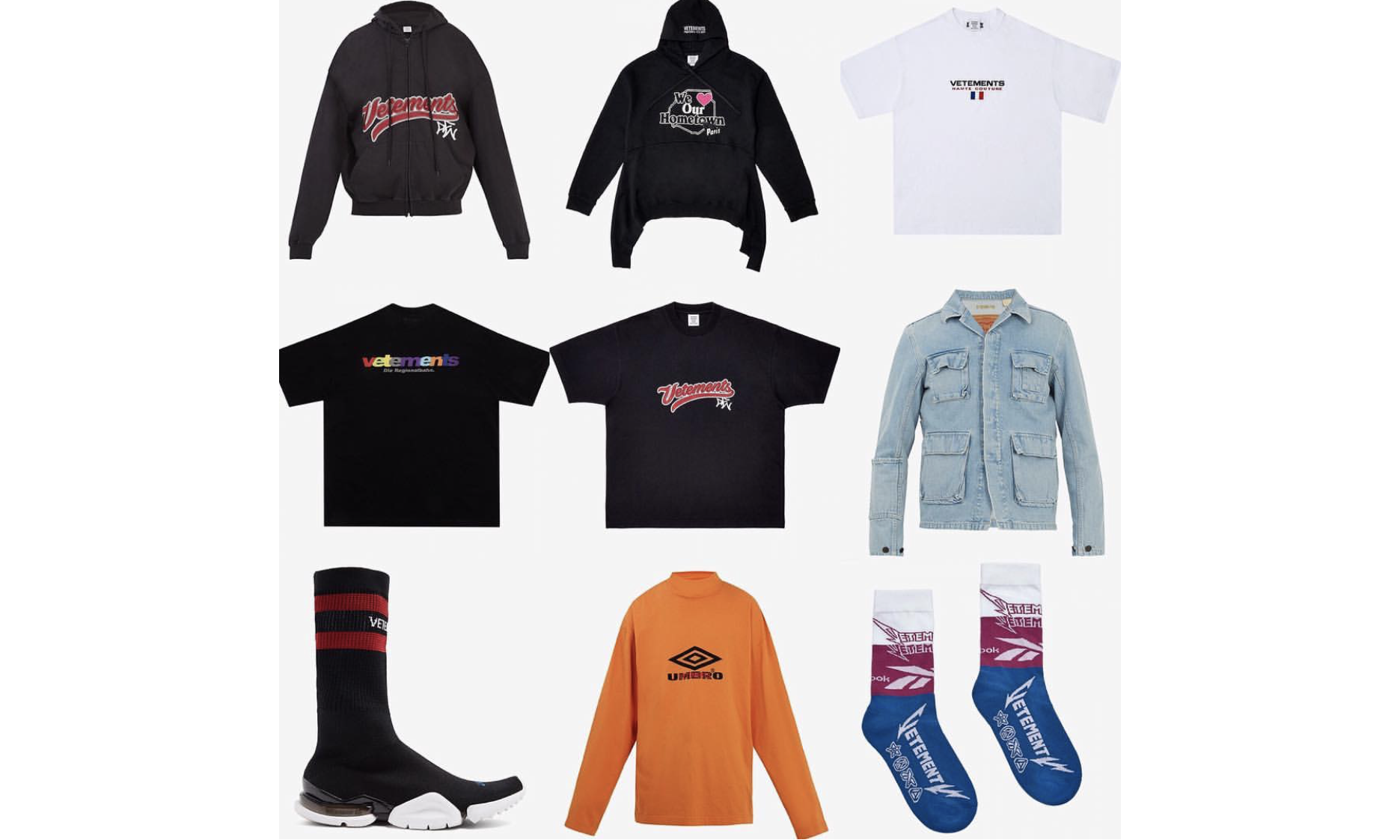 VETEMENTS 2018 春夏系列第二波新品上架