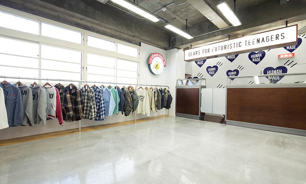 NIGO® 于日本中目黑新店 OFFLINE STORE 店内一览