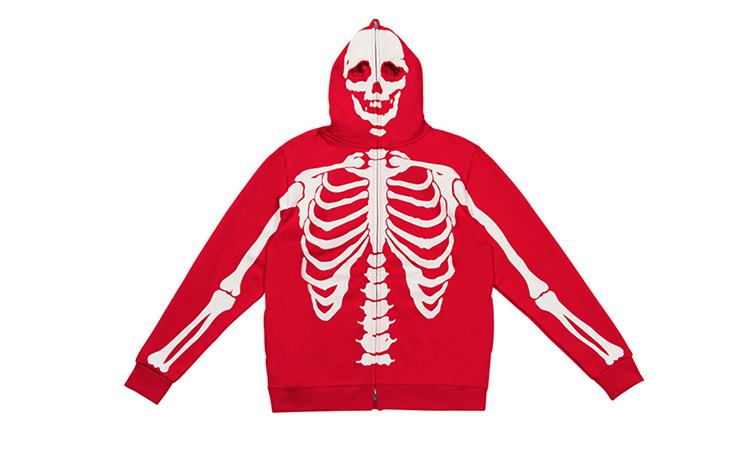 "致敬 LRG,99%IS 推出 ""Skeleton"" 帽衫系列"