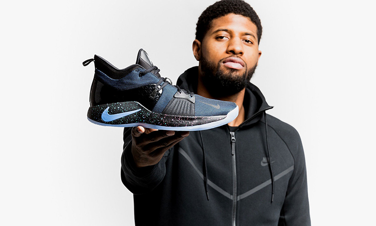 Nike 为 Paul George 正式推出个人第二款签名球鞋 PG2