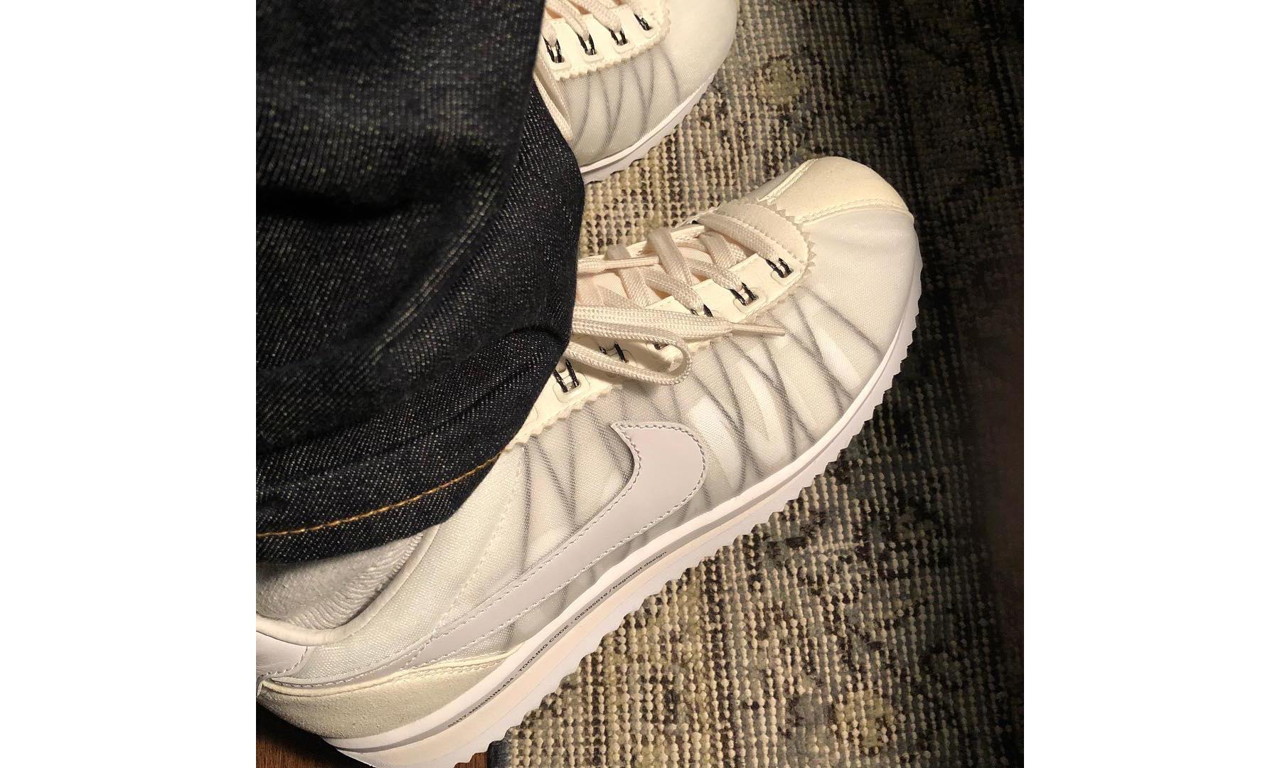 藤原浩曝光 fragment design x Nike Cortez 全新设计