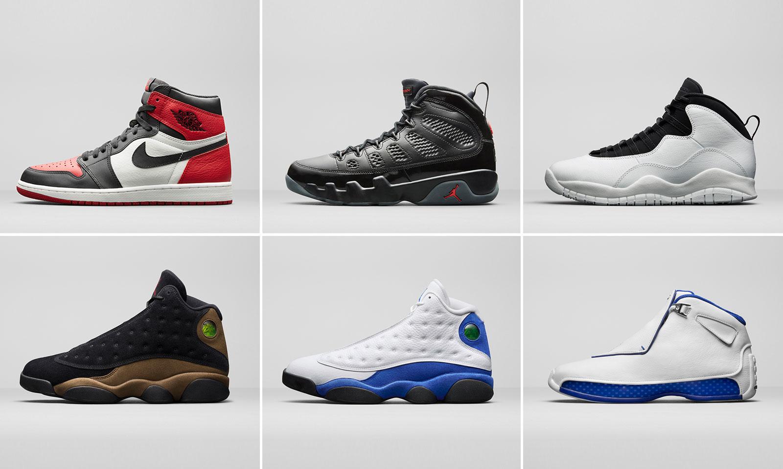 Jordan Brand 发布 2018 春季 Air Jordan 复刻系列预览