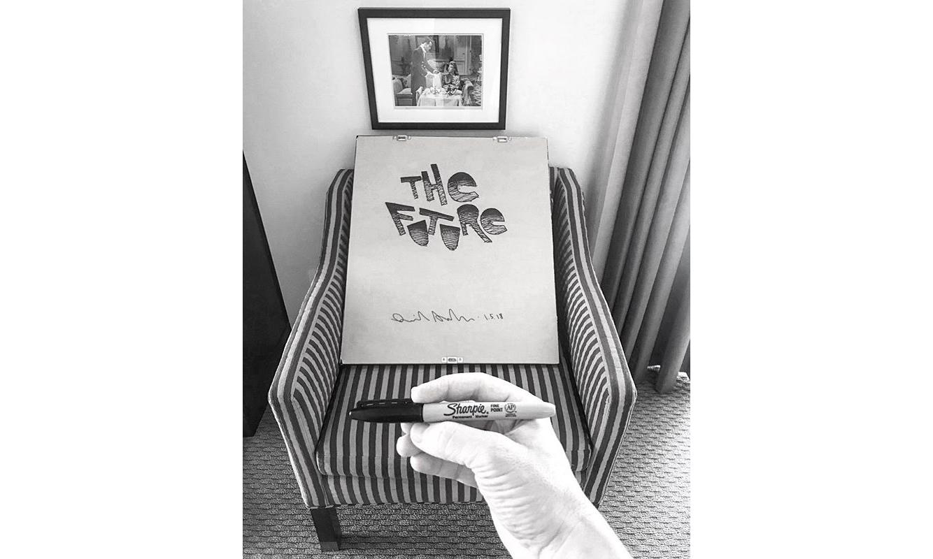 入住酒店或可意外见到 Daniel Arsham 的作品
