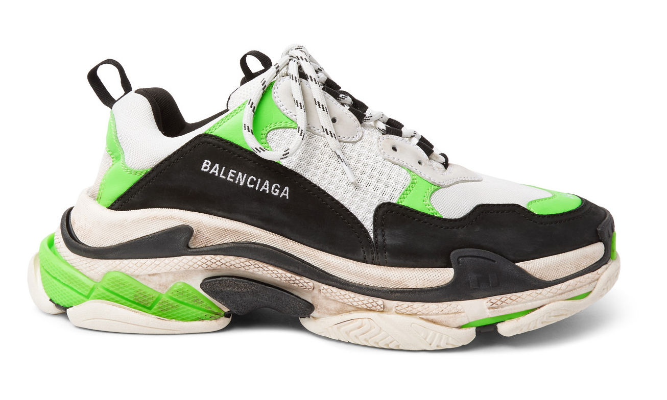 MR PORTER x Balenciaga 独占限定配色 Triple S 即将开售