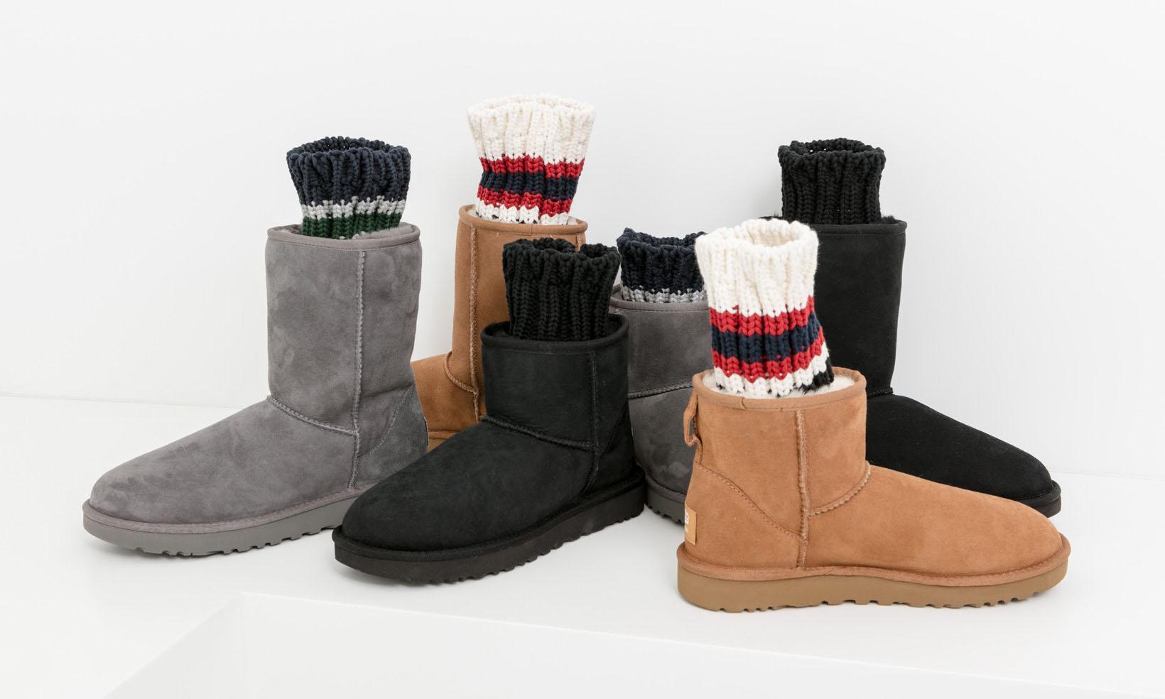 sacai 和 UGG 联手打造 2018 秋冬鞋款