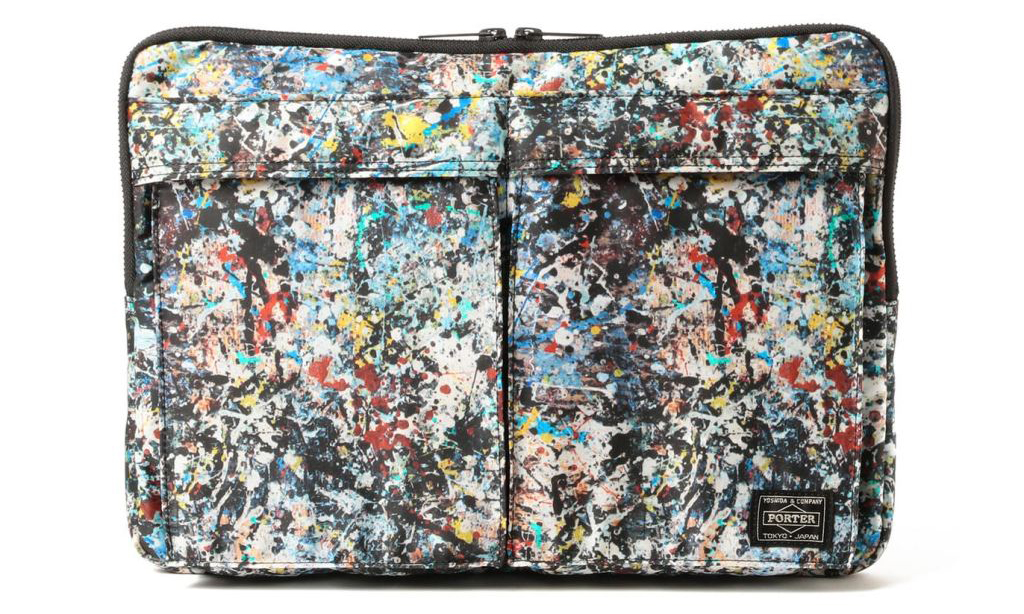 Sync. x Jackson Pollock x PORTER 发布两款联名包袋