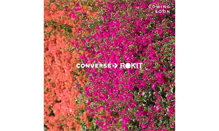 街头品牌 ROKIT 即将与 CONVERSE 展开合作