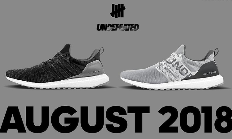 UNDEFEATED x adidas Ultra BOOST 又有新配色