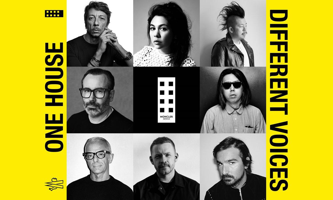 藤原浩、Craig Green 等八位设计师加入 Moncler Genius 企划